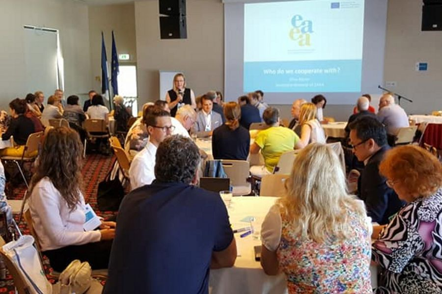 UAAD Representative Participates in European Association for the Education of Adults Conference