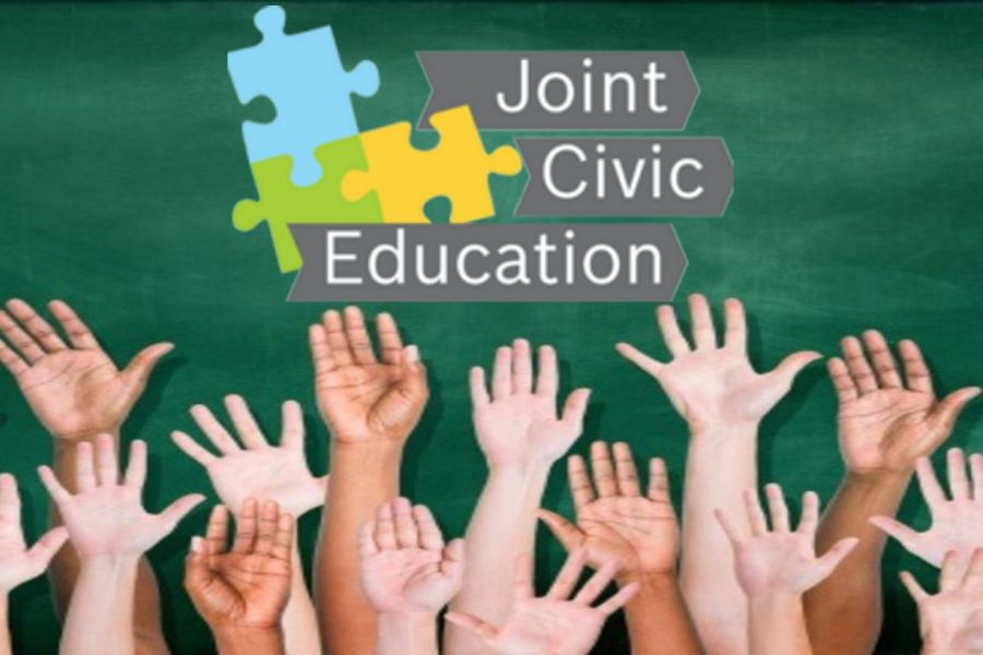Training of professionals in the field of adult education, including issues of civic education