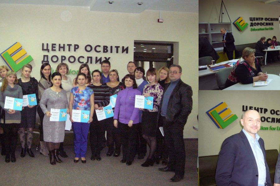 MONITORING OF THE PROJECT «REGIONAL VOICES - BUILDING BRIDGES FOR DEMOCRACY» IN THE ADULT EDUCATION CENTER (Sumy, Ukraine)