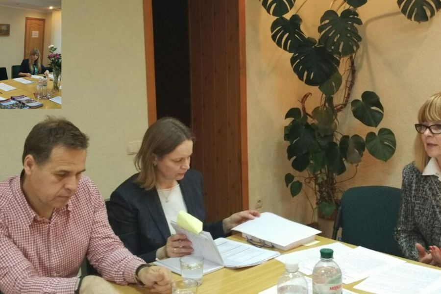 Official meeting of the Board of Ukrainian Adult Education Association